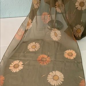Vintage 🌸DAISY scarf - made in ITALY